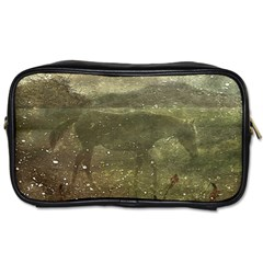 Flora And Fauna Dreamy Collage Travel Toiletry Bag (two Sides) by dflcprints