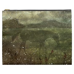 Flora And Fauna Dreamy Collage Cosmetic Bag (xxxl) by dflcprints