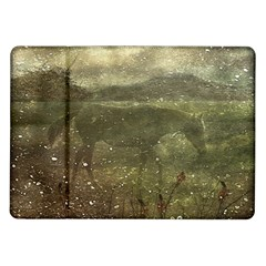 Flora And Fauna Dreamy Collage Samsung Galaxy Tab 10 1  P7500 Flip Case by dflcprints