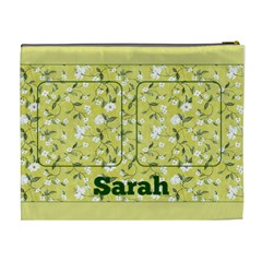 Lemon Cosmetic Bag (xl) By Deborah   Cosmetic Bag (xl)   T3esk2mxxatn   Www Artscow Com Back