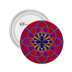 Mandala 2 25  Button by SaraThePixelPixie