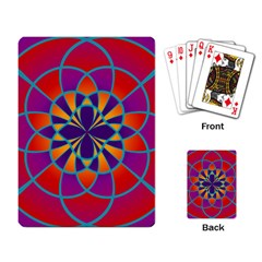 Mandala Playing Cards Single Design by SaraThePixelPixie
