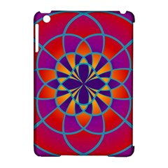 Mandala Apple Ipad Mini Hardshell Case (compatible With Smart Cover) by SaraThePixelPixie