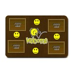 Smiley Welcome Mat, small - Small Doormat