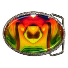 Love Of Is Belt Buckle (oval) by saprillika