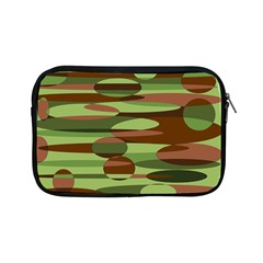 Green And Brown Spheres By Khoncepts Com Apple Ipad Mini Zipper Case by Khoncepts