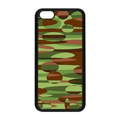 Green And Brown Spheres By Khoncepts Com Apple Iphone 5c Seamless Case (black)