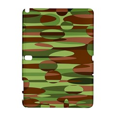 Green And Brown Spheres By Khoncepts Com Samsung Galaxy Note 10 1 (p600) Hardshell Case by Khoncepts