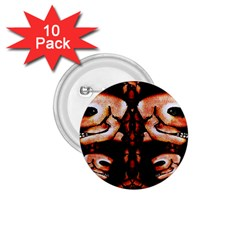 Skull Motif Ornament 1 75  Button (10 Pack) by dflcprints