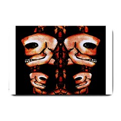 Skull Motif Ornament Small Door Mat