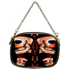 Skull Motif Ornament Chain Purse (one Side) by dflcprints