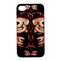 Skull Motif Ornament Apple Iphone 4/4s Hardshell Case With Stand by dflcprints