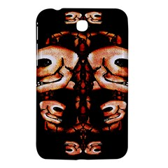 Skull Motif Ornament Samsung Galaxy Tab 3 (7 ) P3200 Hardshell Case  by dflcprints