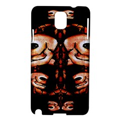Skull Motif Ornament Samsung Galaxy Note 3 N9005 Hardshell Case by dflcprints
