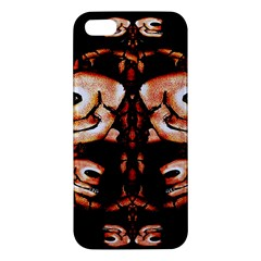 Skull Motif Ornament Iphone 5s Premium Hardshell Case by dflcprints