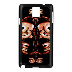Skull Motif Ornament Samsung Galaxy Note 3 N9005 Case (black) by dflcprints