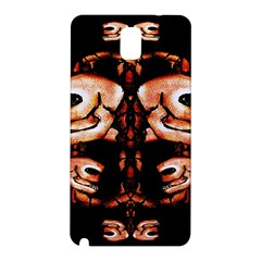 Skull Motif Ornament Samsung Galaxy Note 3 N9005 Hardshell Back Case by dflcprints