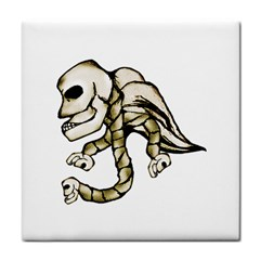 Angel Skull Ceramic Tile