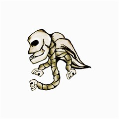 Angel Skull Canvas 20  X 30  (unframed) by dflcprints