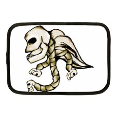 Angel Skull Netbook Sleeve (medium)
