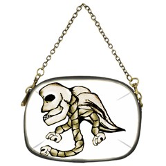 Angel Skull Chain Purse (one Side)