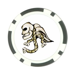 Angel Skull Poker Chip (10 Pack)