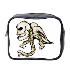 Angel Skull Mini Travel Toiletry Bag (two Sides) by dflcprints