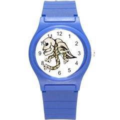 Angel Skull Plastic Sport Watch (small)