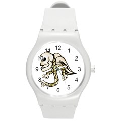 Angel Skull Plastic Sport Watch (medium)