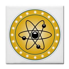 Atom Symbol Face Towel by StuffOrSomething