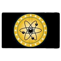 Atom Symbol Apple Ipad 3/4 Flip Case by StuffOrSomething