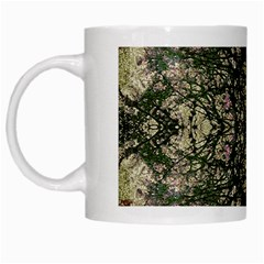 Winter Colors Collage White Coffee Mug by dflcprints