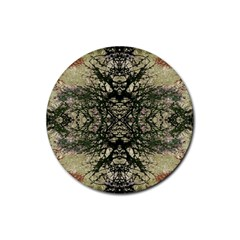Winter Colors Collage Drink Coaster (round) by dflcprints
