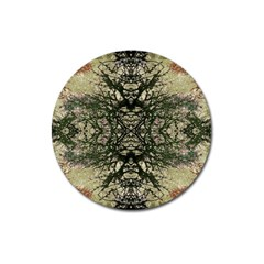 Winter Colors Collage Magnet 3  (round) by dflcprints