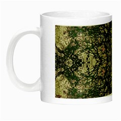 Winter Colors Collage Glow In The Dark Mug by dflcprints