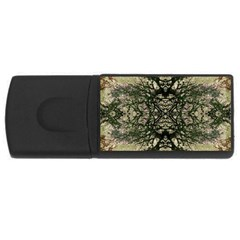 Winter Colors Collage 4gb Usb Flash Drive (rectangle) by dflcprints