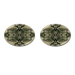Winter Colors Collage Cufflinks (oval) by dflcprints