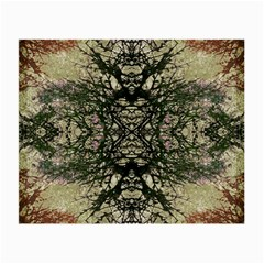 Winter Colors Collage Glasses Cloth (small, Two Sided) by dflcprints