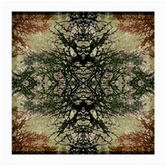 Winter Colors Collage Glasses Cloth (medium, Two Sided) by dflcprints