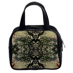 Winter Colors Collage Classic Handbag (two Sides) by dflcprints