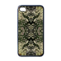 Winter Colors Collage Apple Iphone 4 Case (black) by dflcprints