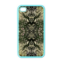 Winter Colors Collage Apple Iphone 4 Case (color) by dflcprints