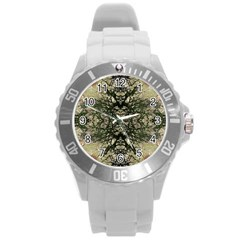 Winter Colors Collage Plastic Sport Watch (large) by dflcprints
