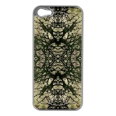 Winter Colors Collage Apple Iphone 5 Case (silver) by dflcprints