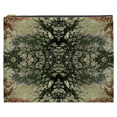 Winter Colors Collage Cosmetic Bag (xxxl) by dflcprints