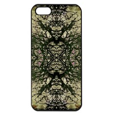 Winter Colors Collage Apple Iphone 5 Seamless Case (black) by dflcprints