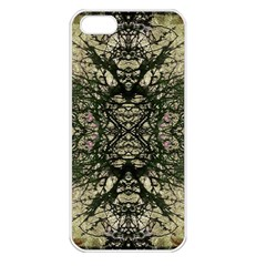 Winter Colors Collage Apple Iphone 5 Seamless Case (white) by dflcprints