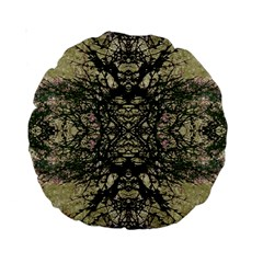 Winter Colors Collage 15  Premium Round Cushion  by dflcprints