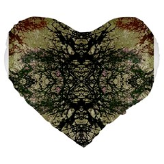 Winter Colors Collage 19  Premium Heart Shape Cushion by dflcprints
