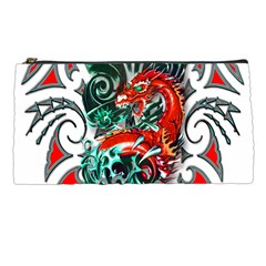 Tribal Dragon Pencil Case by TheWowFactor